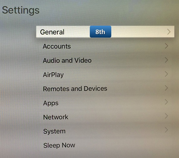 changing dns on apple tv